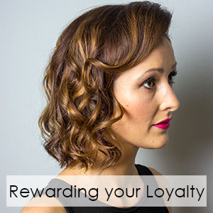 Rewarding your Loyalty at Ventura Hair Design Salon in Eastleigh
