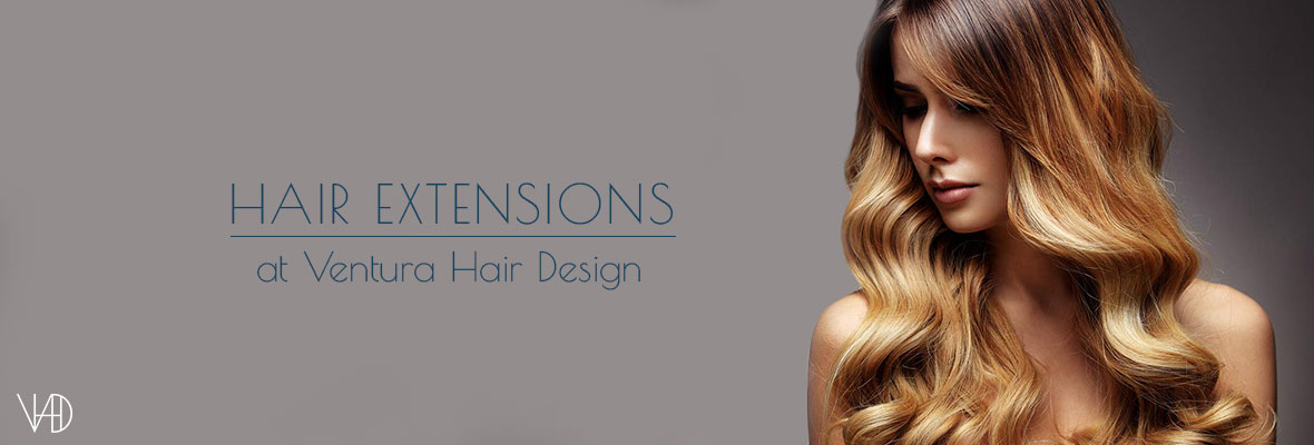 hair extensions at Ventura Hair Design Salon in Eastleigh