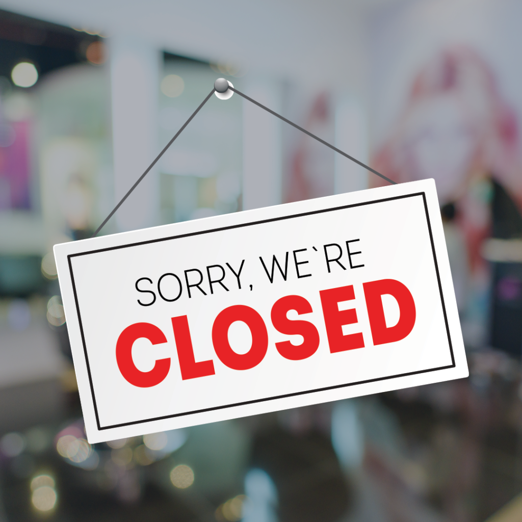 Important Notice – Temporary Salon Closure