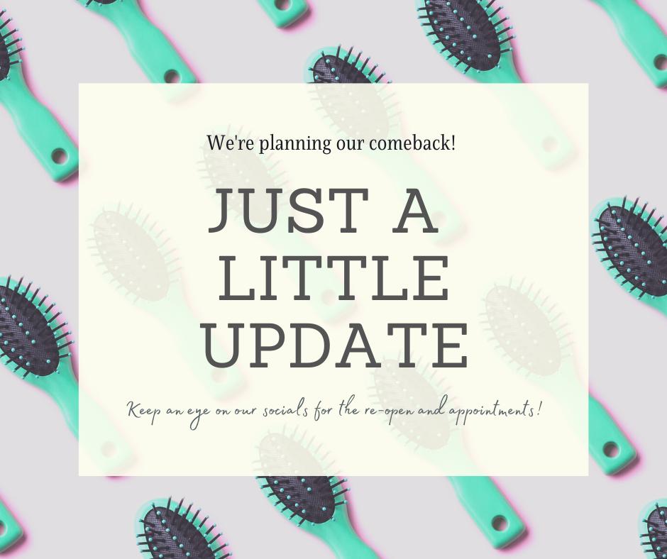 Coronavirus – Important Update from Ventura Hair Design