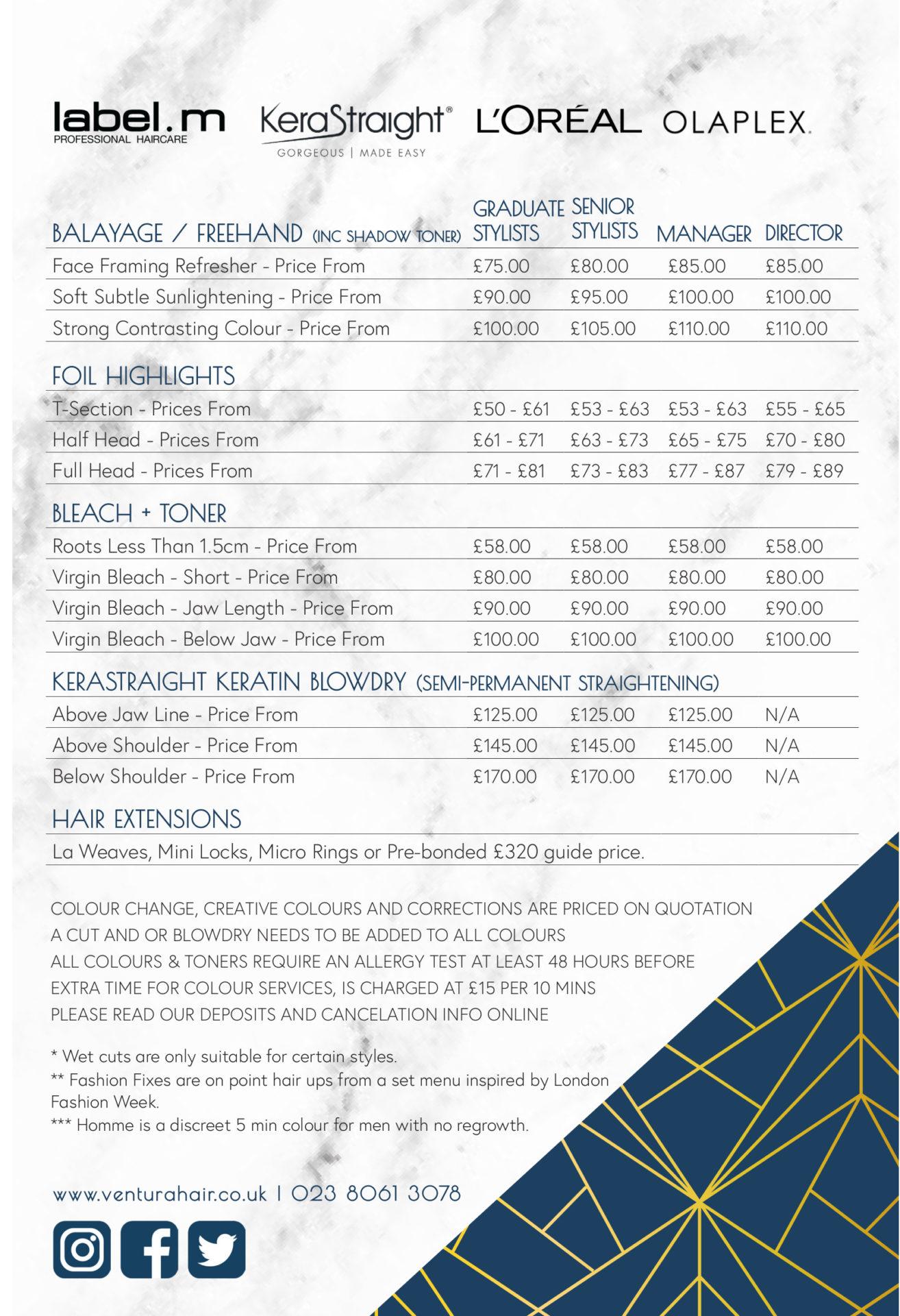 price list Oct20 p2