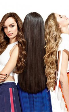 Hair Extensions at Ventura Hair Design Salon in Eastleigh, Southampton